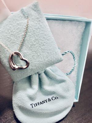 Silver Tiffany's Necklace for Sale in Escalon, CA