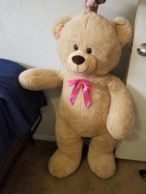 Plush Stuffed Animals Giant Light Brown Teddy Bear 39 inches for Sale in Houston, TX