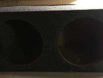 2 12 Inch Subwoofer Box for Sale in Portsmouth,  VA