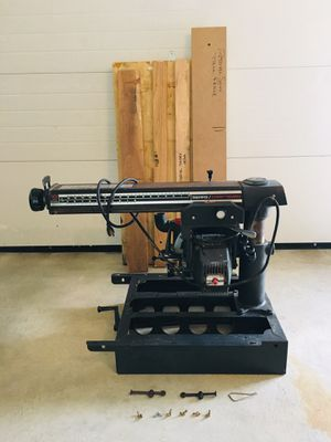 "Craftsman 10"" Radial Arm Saw with Table for Sale in Plymouth, MA"