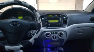 2008 Hyundai accent manual 5 speed a/c works perfectly very cold clean title smog on hand for Sale in Las Vegas, NV