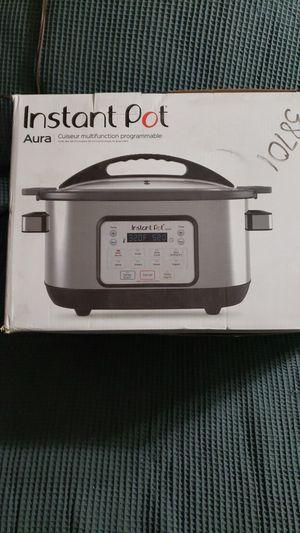Instant Pot Aura Multi Use Programmable Multicooker 6 Qt for Sale in San Bernardino, CA
