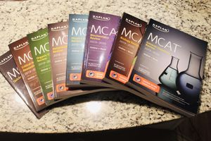 Kaplan MCAT Complete 7-Book Subject Review 2019-2020 for Sale in Columbia, MO