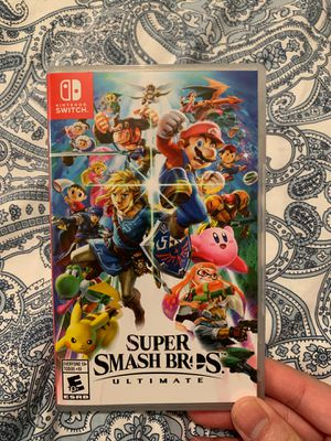 Super Smash Bros Switch for Sale in North Providence, RI