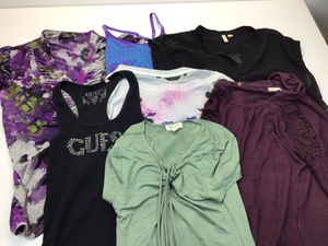Women's Clothes Lot Total 7 Tops size XS - S for Sale in Kent, WA