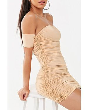NUDE RUCHED MINI DRESS SIZE SMALL for Sale in Glendale, CA