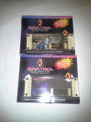 Star Trek The Motion Picture Original Film Cells Admiral James T Kirk Edition & V'Ger Edition Both New $10 for Sale in Reedley, CA