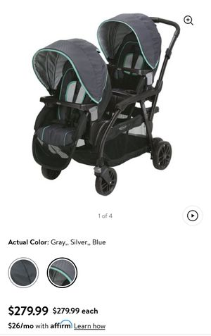 Graco carriola doble. (Graco Modes Duo Double Stroller) for Sale in Irving, TX
