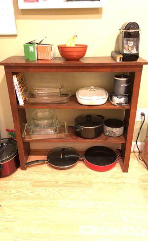 Brown shelves for Sale in Arlington, VA