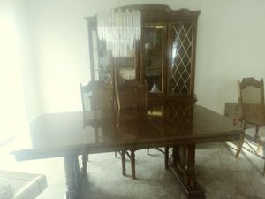 Dinning Room table and 8 chairs for Sale in US