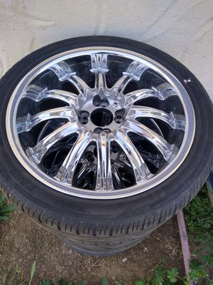 """Nice 18"""" 4 lug universal rims for sale for Sale in Willows, CA"""