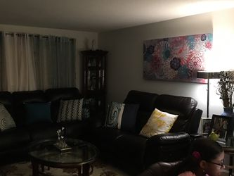 Electric recliner sofa and loveseat for Sale in Marlborough,  MA