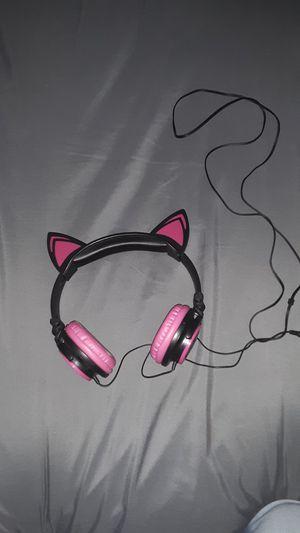 Cat Ear Headphones for Sale in Deville, LA