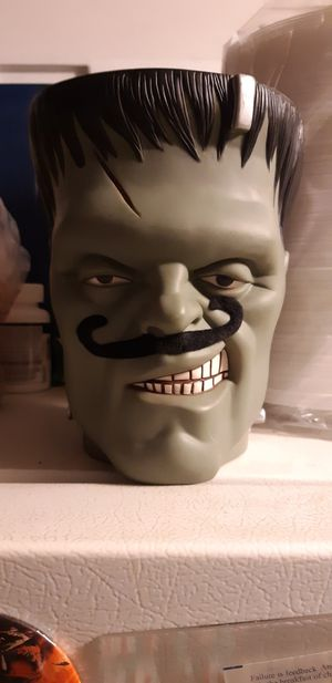 Sideshow Frankenstein's monster candy holder for Sale in Fort Lauderdale, FL
