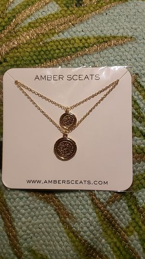 *NEW*Amber Sceats Double Coin Necklace for Sale in Phoenix, AZ