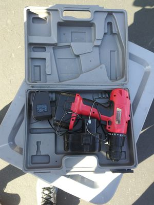 Firestorm hand drill battery and charger included for Sale in Westminster, CA