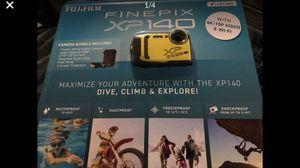 Fuji Film FinePix XP 140 Camera Bundle - Still sealed in box never opened for Sale in Mukilteo, WA