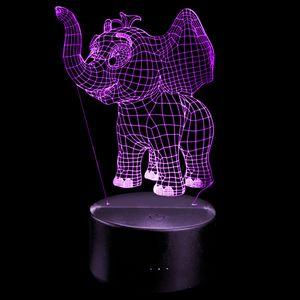 3D Night Light Elephant Baby for Kids for Sale in Las Vegas, NV
