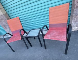 3 piece outdoor patio set furniture FREE DELIVERY WITHIN 5 MILES 👍 for Sale in Las Vegas, NV