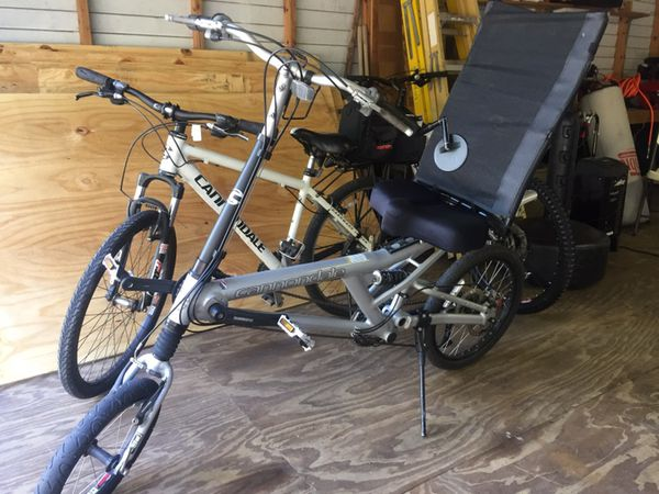 Cannondale Easy Rider Full Suspension Recumbent Bike Made