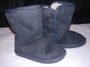 Little girls Black Boots from Old Navy for Sale in Chester, VA