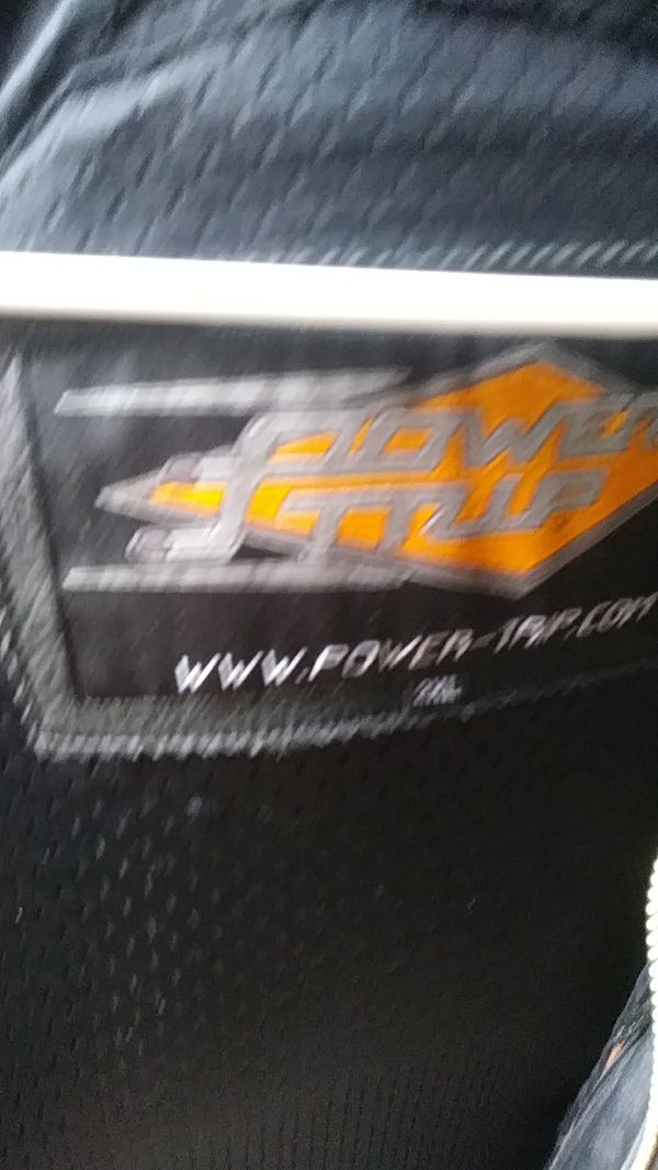 Power Trip. Leather jacket 2XL