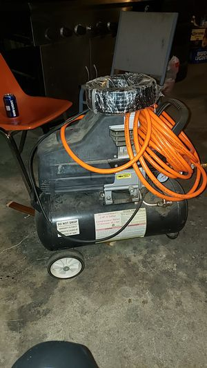 Air compressor 2 hp_8 gallon for Sale in East Wenatchee, WA