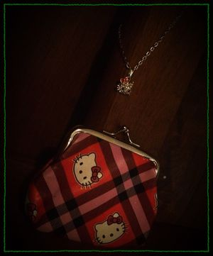 Hello Kitty necklace and coin purse set for Sale in Richardson, TX