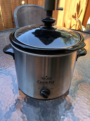 Rival Crock Pot / Slow Cooker for Sale in Costa Mesa, CA