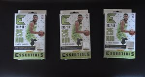 2017-18 Panini Essentials Basketball Hanger Boxes (3) for Sale in Chicago, IL