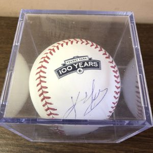Kevin Youkilis Boston Red Sox Signed Baseball for Sale in Tempe, AZ