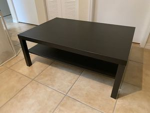 Ikea black coffee table for Sale in Miami, FL