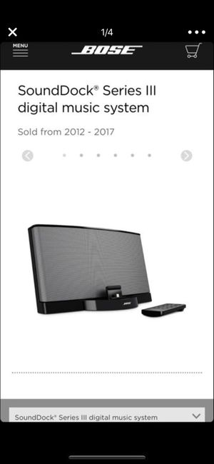 Bose sounddeck series 3 for Sale in Chicago, IL