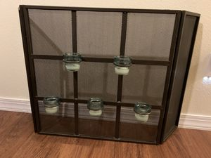 Fireplace Screen with candle holders for Sale in Richardson, TX