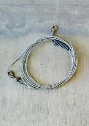 DOGS/PETS - Two 30 ft. Tether Tie-Out Cables. for Sale in San Marcos, CA