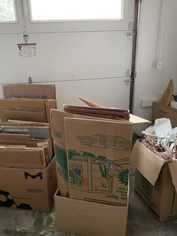 Free Moving Boxes for Sale in Stanford,  CA