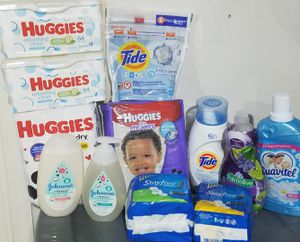 Huggies Baby & Me Personal care Bundle for Sale in Suffolk, VA