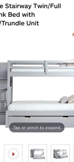 Full Over Twin Bunk Bed for Sale in Norwood,  MA