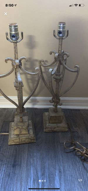 Lamp vintage style for Sale in Palm Beach Gardens, FL