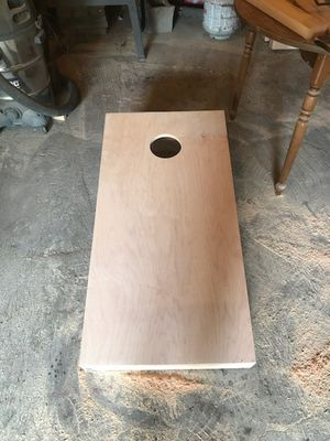 Unfinished corn hole boards for Sale in Vestal, NY