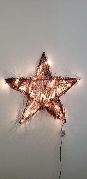 2ft Christmas Star Decoration for Sale in Gilbert, AZ