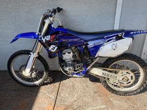 2003 yz250f green sticker 2022 tags dirtbike for Sale in Pittsburg, CA