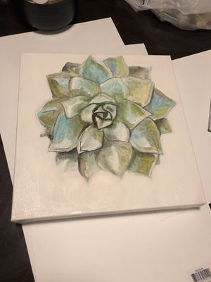 Succulent Painting for Sale in Apopka, FL
