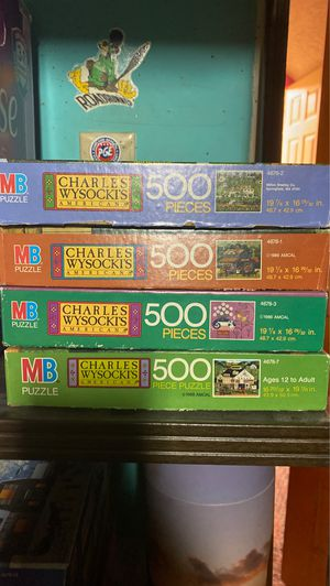 Charles Wysocki's American puzzles for Sale in Portland, OR
