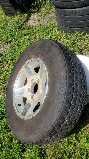 "Trailer spare tire and rim 14"" for Sale in Palm Springs, FL"