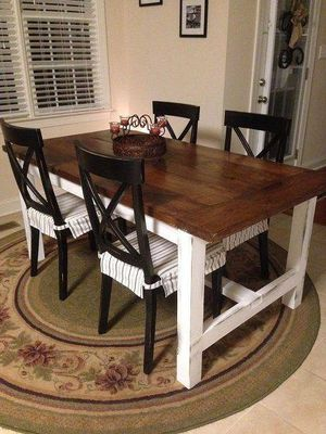 Farmhouse Dining Kitchen Table for Sale in Fuquay-Varina, NC