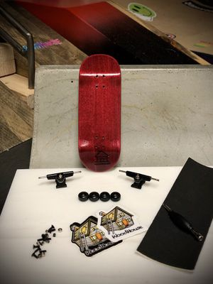 """WoodHouse Fingerboards complete """"Raspberry #1"""" for Sale in Laguna Woods, CA"""