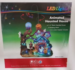 Animated LED Haunted House in Box for Sale in Roseville, CA