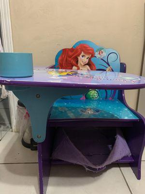 The Little mermaid Kids desk for Sale in Bakersfield, CA