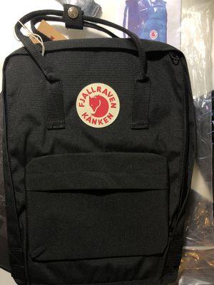 Fjallraven Kanken Backpack color Black for Sale in Santa Fe Springs, CA